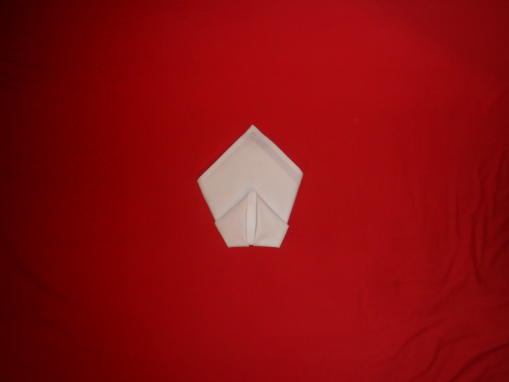 Napkin Origami The Cone Fold