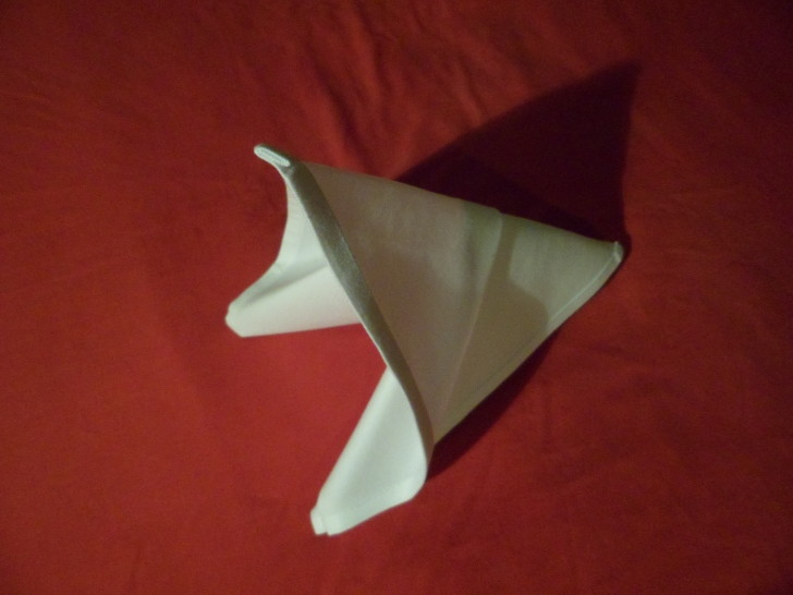 Folding Cloth Napkins Slide Napkin Fold